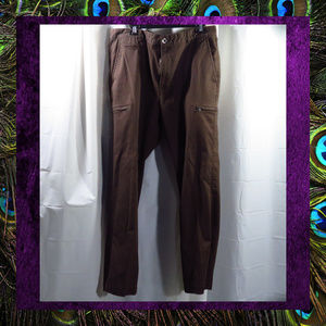 Men's Brown Cargo Pants  #PANT-046